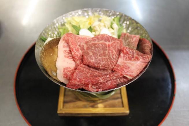 富山産 和牛 鍋