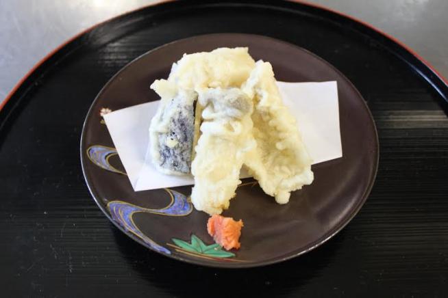あまだいの天ぷら