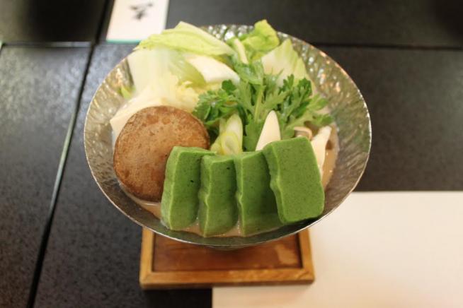 精進料理 豆乳鍋